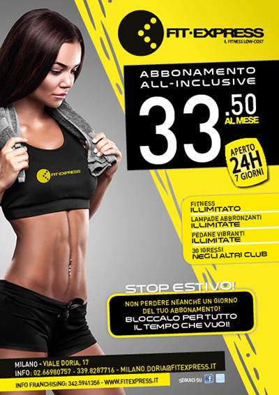 Promo Fit Express Milano