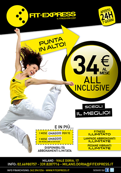 Promo Fit Express Milano