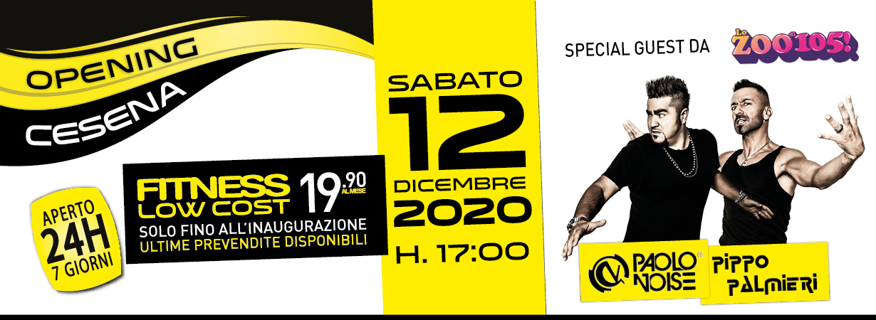 opening Fit Express Cesena