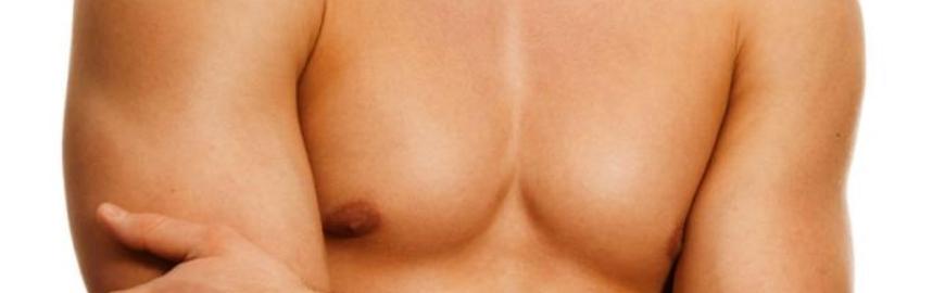 come ridurre il seno maschile